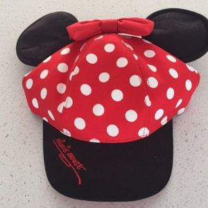 Disney world Minnie Mouse youth ball cap hat